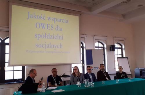 IX Ogólnopolskie Forum Spółdzielni Socjalnych oraz 10-lecie OZRSS